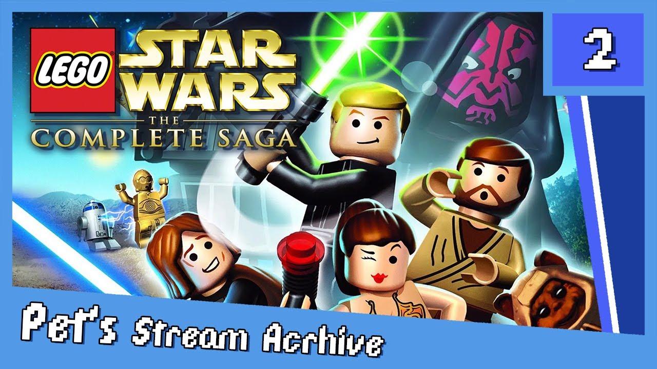 playing through lego star wars tcs with nodammlife feb