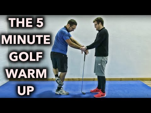THE 5 Minute Golf Warm Up – Try This Before You Play