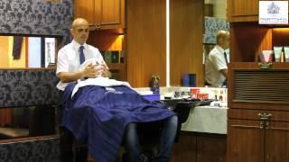 Royal Shave at Truefitt & Hill.