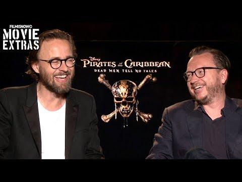 Pirates of the Caribbean 5 2017 Joachim Rønning & Espen Sandberg talk about the movie