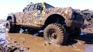 """RC ADVENTURES - BEE """"ST"""" DUALLY iN a MUD BATH. ONE BAD MUDDER! CROSS PG4L"""