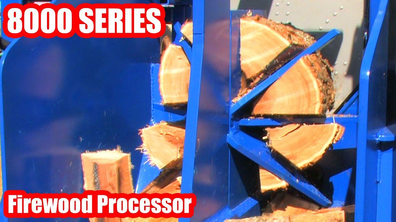 8000 SERIES Firewood Processor Circular Saw (2015 Update)