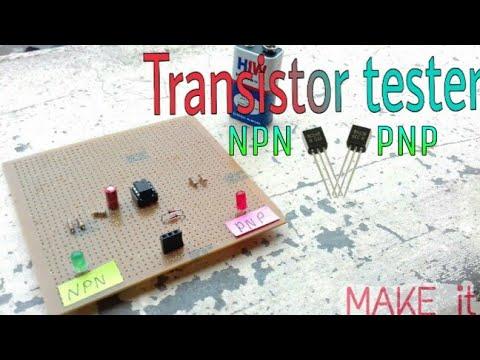 Transistor Tester Circuit Diagram | How To Make Transistor Tester Circuit Using Ic 555 Timer With