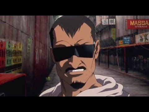 Ghost in the Shell - Chase Scene