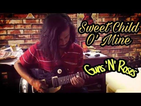 Sweet Child O' Mine – Guns 'N' Roses – Appetite for Destruction – Guitar Cover – Sahitya Roy