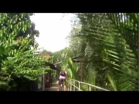 Vintage jungle bicycle tour in Bangkok