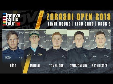 Innova Baltic Tour 2018, Zarasai Open, RD3/B9 - Lätt, Maidla, Tammjärv, Dvinjaninov, Rotmeister