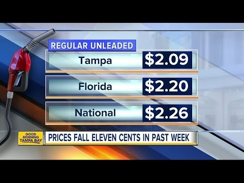 Florida gas prices start summer at 12-year-low