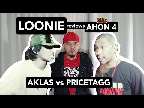 LOONIE   BREAK IT DOWN: Rap Battle Review 117   AHON 4: AKLAS vs PRICETAGG