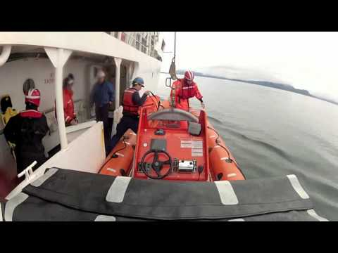 NOAA Ship Rainier- Fast Rescue Boat Launch and Recovery.mp4