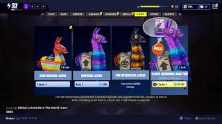 Fortnite : How to get a Free Llama for the next 24 hours hurry up and claim it! (11/3/17)