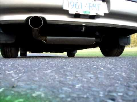 Acura Integra Tanabe Hyper Medallion Exhaust YouTube - 1990 acura integra muffler