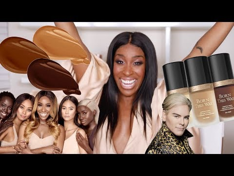 Youtuber: Jackie Aina's Too Faced 'Born This Way' foundation shades have arrived