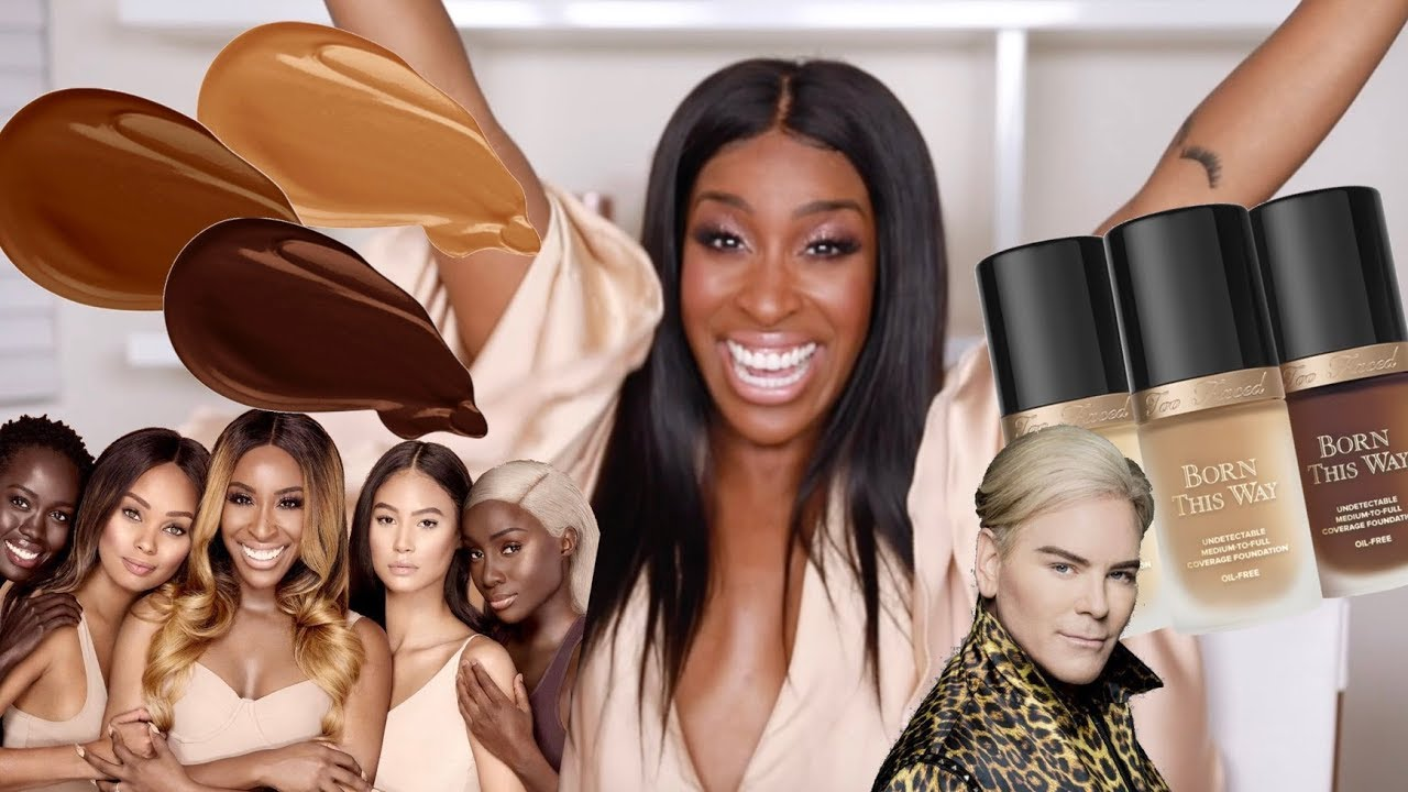 Jackie Aina Too Faced Launch A More Inclusive Foundation Range