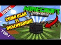 Minecraft PE 0.15.0 - Como Usar el Observador en Minecraft Pocket Edition