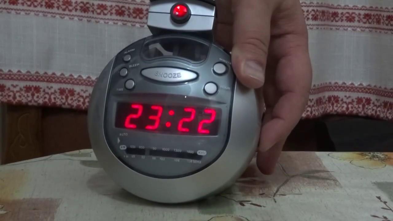Radio Clock With Projection Proline
