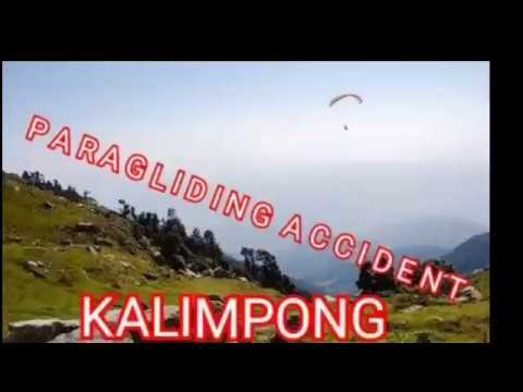 Live Caught On Camera Paragliding Accident In Kalimpong