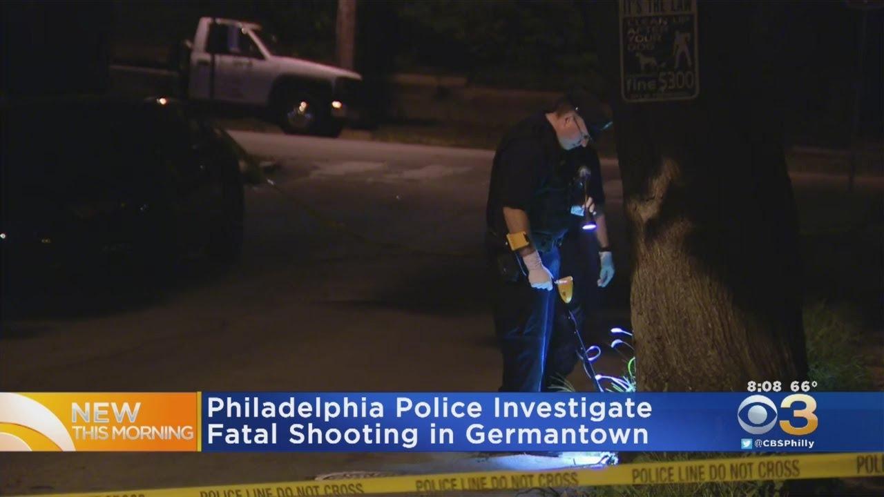 Philadelphia Police Investigate Fatal Shooting In Germantown