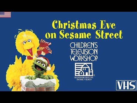 Christmas Eve On Sesame Street.Christmas Eve On Sesame Street Vhs 1987 Usa