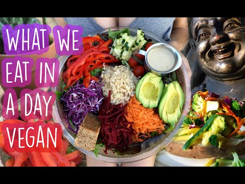What We Eat In A Day [VEGAN] [HEALTHY] [RESTAURANTS]