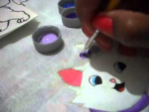 Como Pintar A Gata Marie Youtube