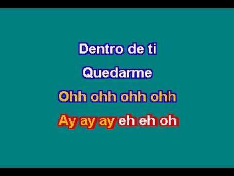 Thalía   Estoy Enamorada Karaoke con voz guia