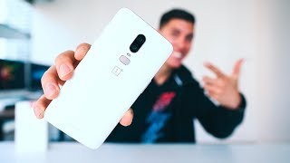 THE ONEPLUS 6 YOU NEED - SILK WHITE UNBOXING!