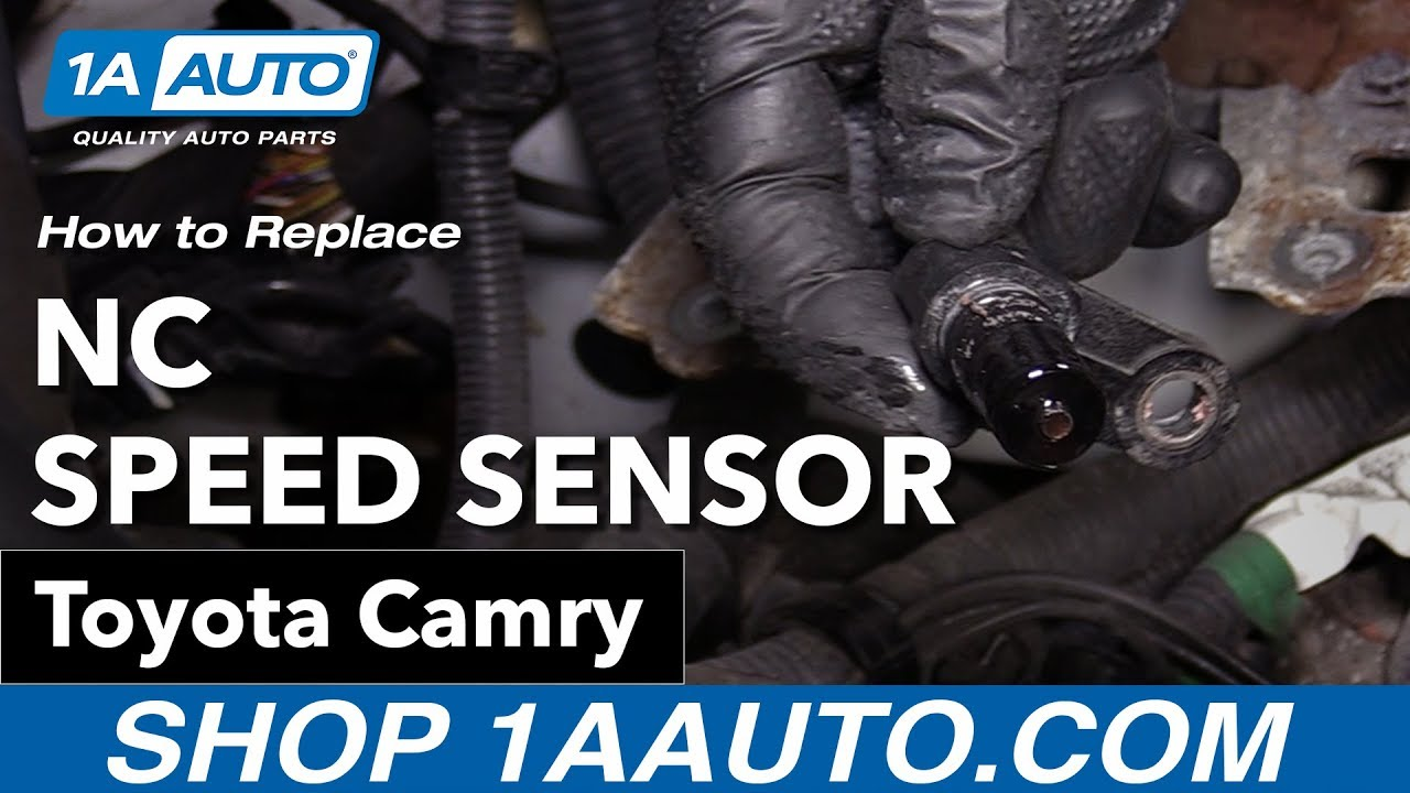 how to replace nc speed sensor 06 11 toyota camry [ 1280 x 720 Pixel ]