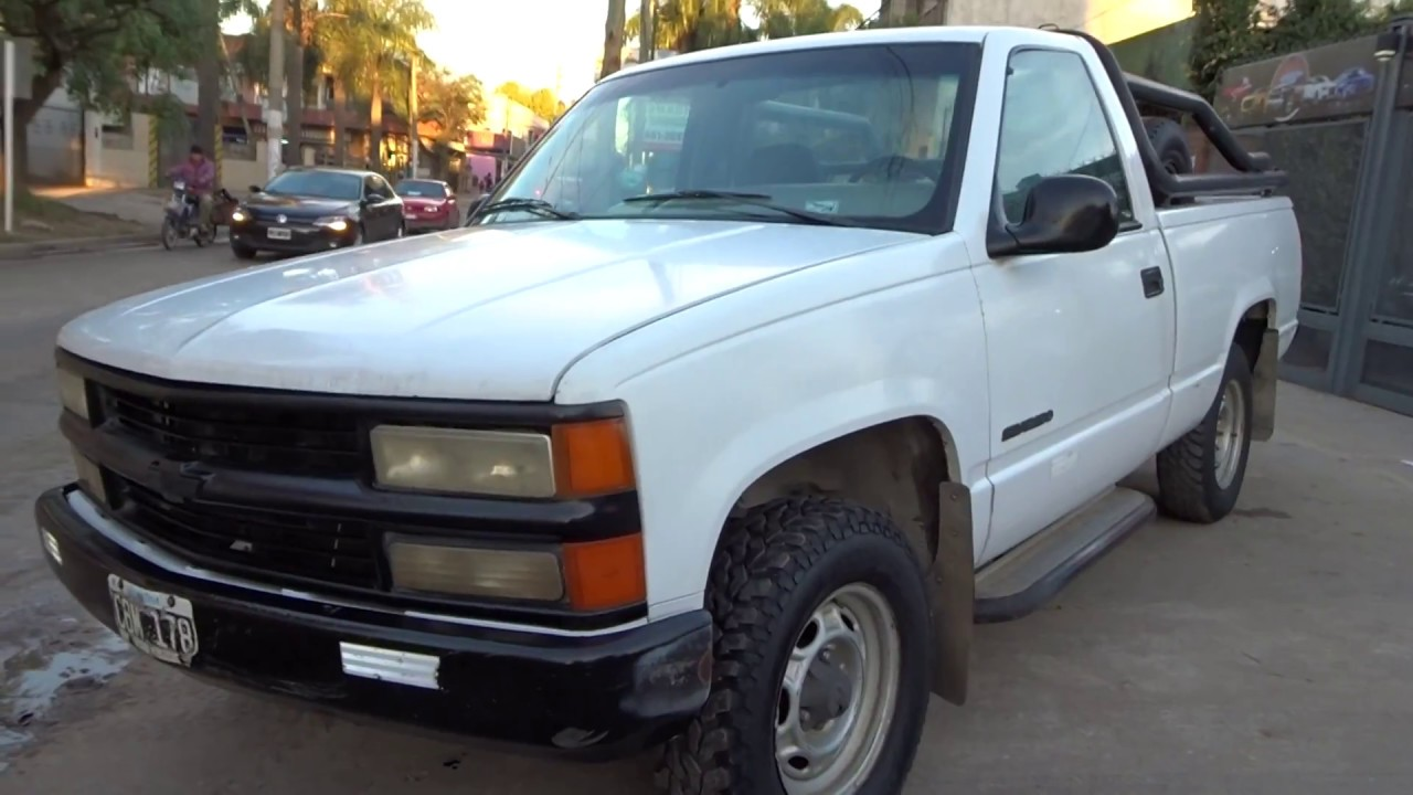 Chevrolet Silverado Std Diesel Maxi 1998 Youtube