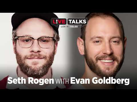 Seth Rogen in conversation with Evan Goldberg at Live Talks Los Angeles