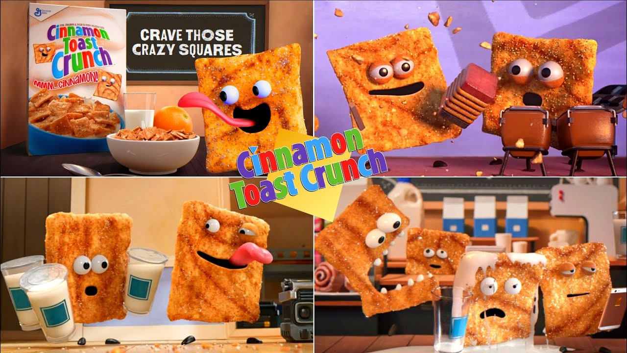 Cinnamon Toast Crunch Crazy Squares Funny Commercials EVER!