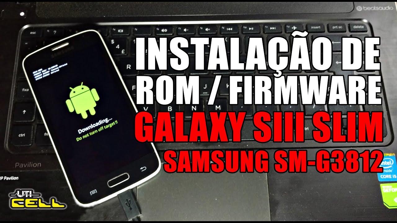 Instalação da Stockrom oficial no Samsung Galaxy S3 slim (SM