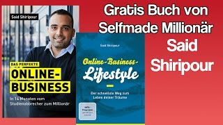 Das perfekte Online Business - Gratis Buch von SAID SHIRIPOUR