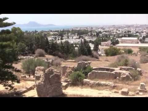 Carthage: The National Museum & St. Louis Cathedral, Tunisia - 9th July, 2014