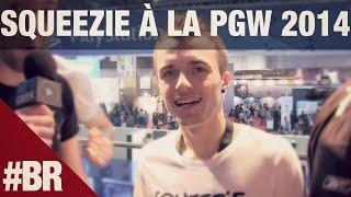 Squeezie à la Paris Games Week 2014 : interview et maîtresse.