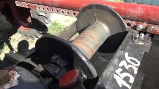 Трактор Т-16.Установка лебедки ГАЗ-66.Часть 2.