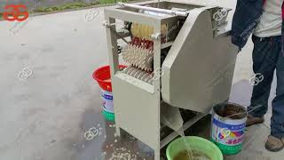 Wet Soybean Peeling Machine for Almond Chickpea