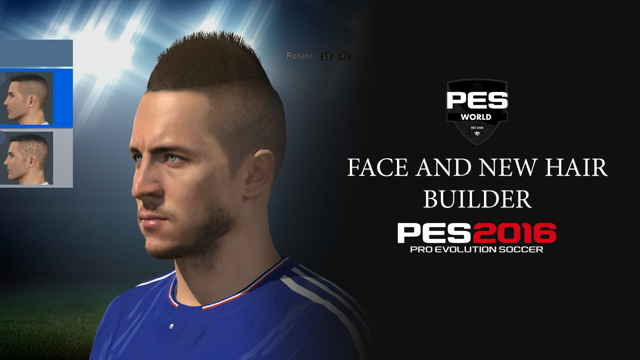 PES 2016 Face And Hair Editor YouTube