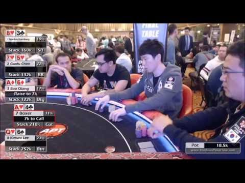 High Rollers Event Final Table - APT Poker Weekend Series 2016