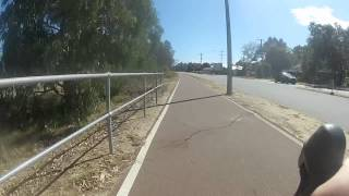 Gopro West Swan Rd from Guildford to Herne Hill