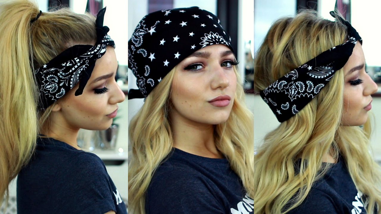 Cute Head Scarfs For Women Erieairfair 10 Cool Tie Knots That39ll Get You Noticed At A Wedding Or Party Pia Mia Kylie Jenner Inspired Bandana Hairstyles Hair