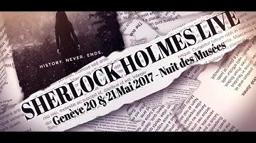 Présentation du Sherlock Holmes Live
