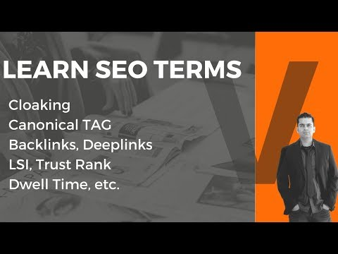 SEO Terms and Definitions: 12 SEO Terms You MUST Know in 2018