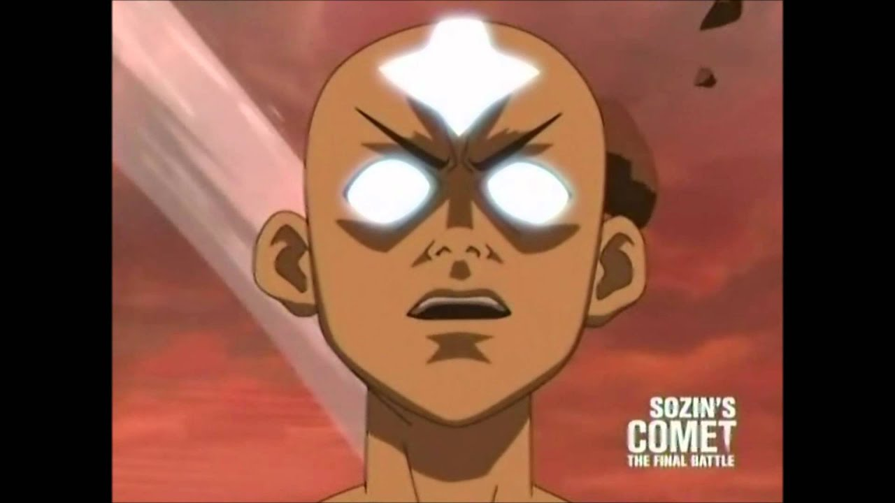Aang Avatar State - YouTube