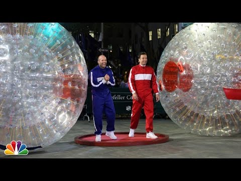 Hamster Ball Race with Jason Statham