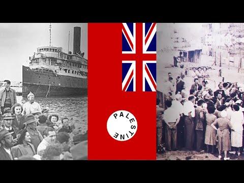 British Palestine Policy Post-WW2