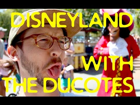 DISNEYLAND with the Ducotes