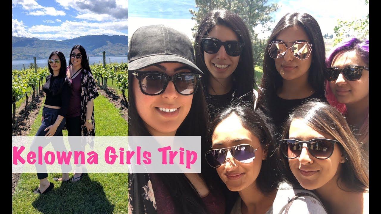 VLOG | Girls Trip | Sparkling Hill | Kelowna | keepingupwithmona