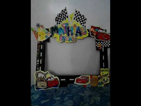 Fiesta Photo Booth Frame