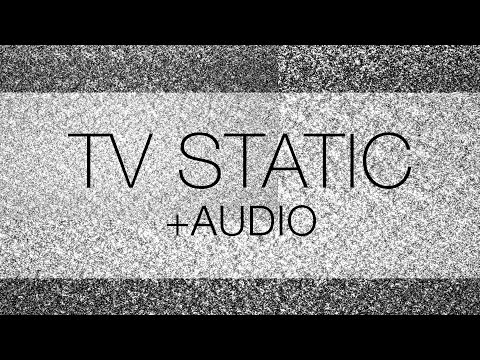 TV Static Noise HD with Audio - Free Download